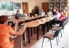 Susitikimas Utenos švietimo centre