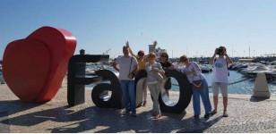 Viena iš užduočių nuotrauka prie Faro užrašo